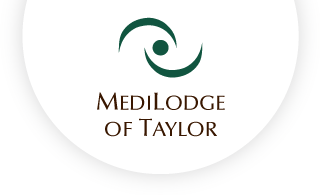 Medilodge of taylor web logo